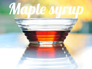 Maple syrup healthy