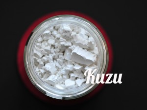 Kuzu starch with healing power