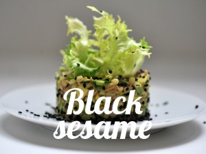 Black sesame seeds – source of proteins
