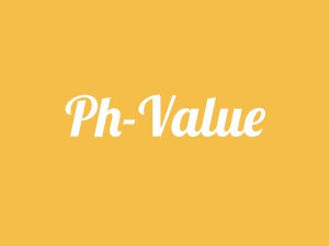 pH value healthy