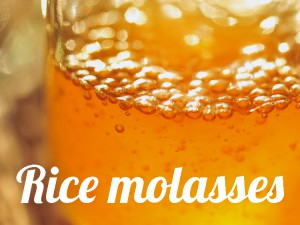 Rice molasses healthy
