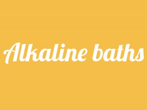 Alkaline baths healthy