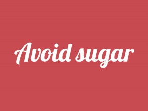 Tips to avoid sugar
