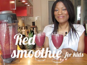 Red smoothie for kids [Video]
