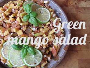 Green mango salad (recipe)