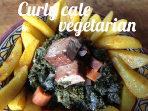 Curly cale vegetarian