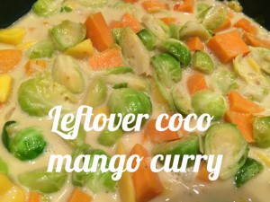 Leftover coco mango curry