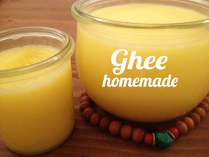 Ghee homemade