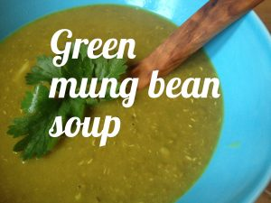 Green mung bean soup