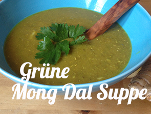 Grüne Mong Dal Suppe