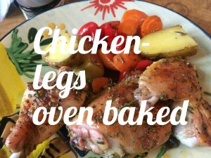 Chicken legs oven baked