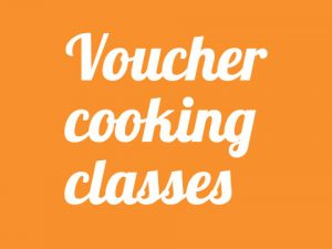 Voucher cooking classes