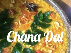 Chana Dal with anis